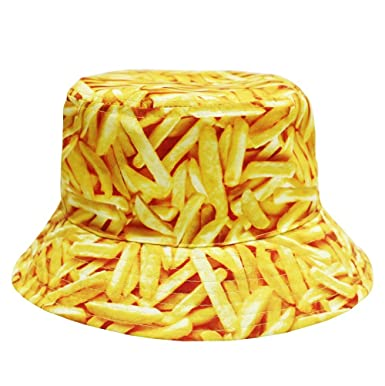 Image Unavailable. Image not available for. Color  French Fries Bucket Hat ce6d1a4abb1
