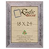 18×24 – 3.5″ Extra Wide Reclaimed Rustic Barnwood Wall Frame Review
