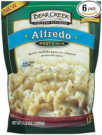 Bear Creek Pasta Mix, Alfredo, 11.3 onzas (Paquete de 6 ...