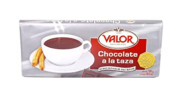 Valor Chocolate a la Taza Bar from Spain (makes 8 cups, 10.5 oz/300 gr)