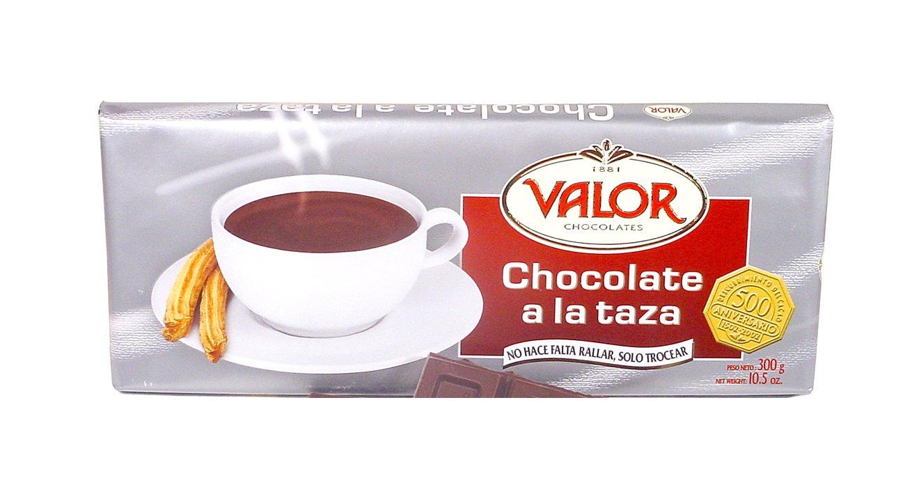 Amazoncom Valor Chocolate A La Taza Bar From Spain Makes 8 Cups