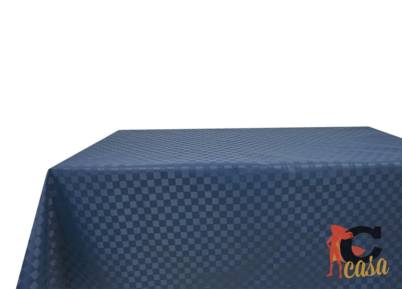 Tovaglia Cerata in PVC Disegno Damina 140x140 Bordeaux