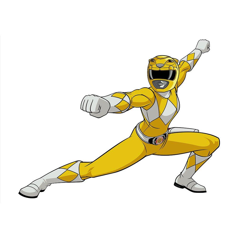 Amazon.com: Decalcomania LLC Mighty Morphin Power Rangers Pink ...