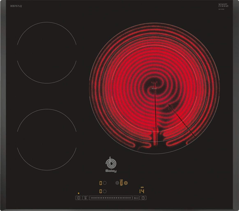 Balay - Placa vitrocerámica 3eb767lq con zona de 32 cm