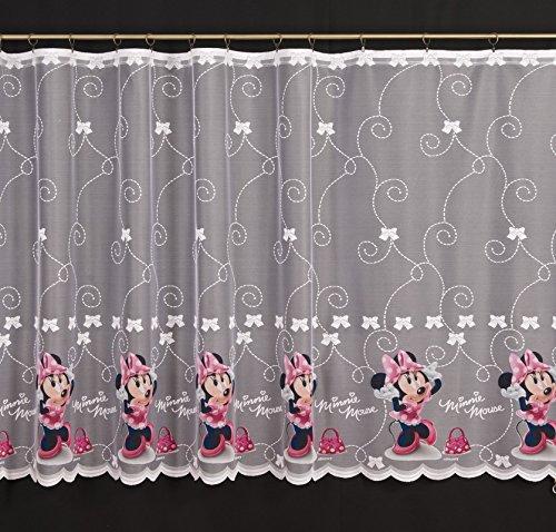 Disney Voile/Gardine, Minnie Maus – 150 Breite cm x Drop 155 cm