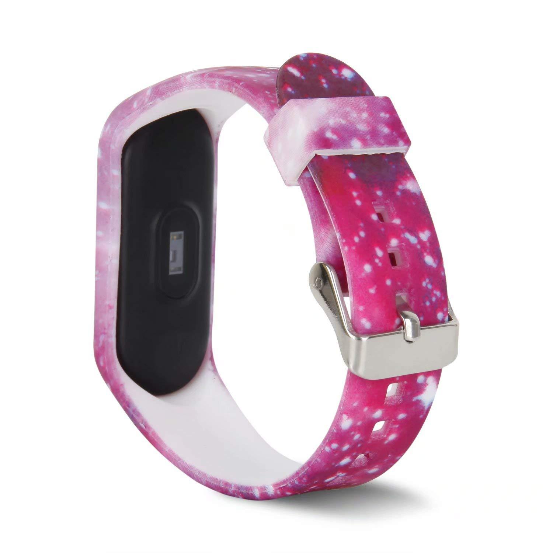 No Tracker T-BLUER per Cinturini Xiaomi Mi Band 3,Cinturini Colorati Cinturino di Ricambio per Xiaomi Mi Band 3 Band Accessori per bracciali Intelligenti