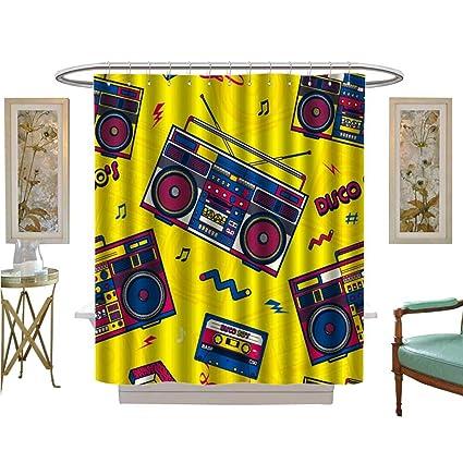 Amazoncom Luvoluxhome Shower Curtains 3d Digital Printing