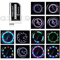 Rottay Bike Wheel Lights Waterproof RGB Ultra Bright...
