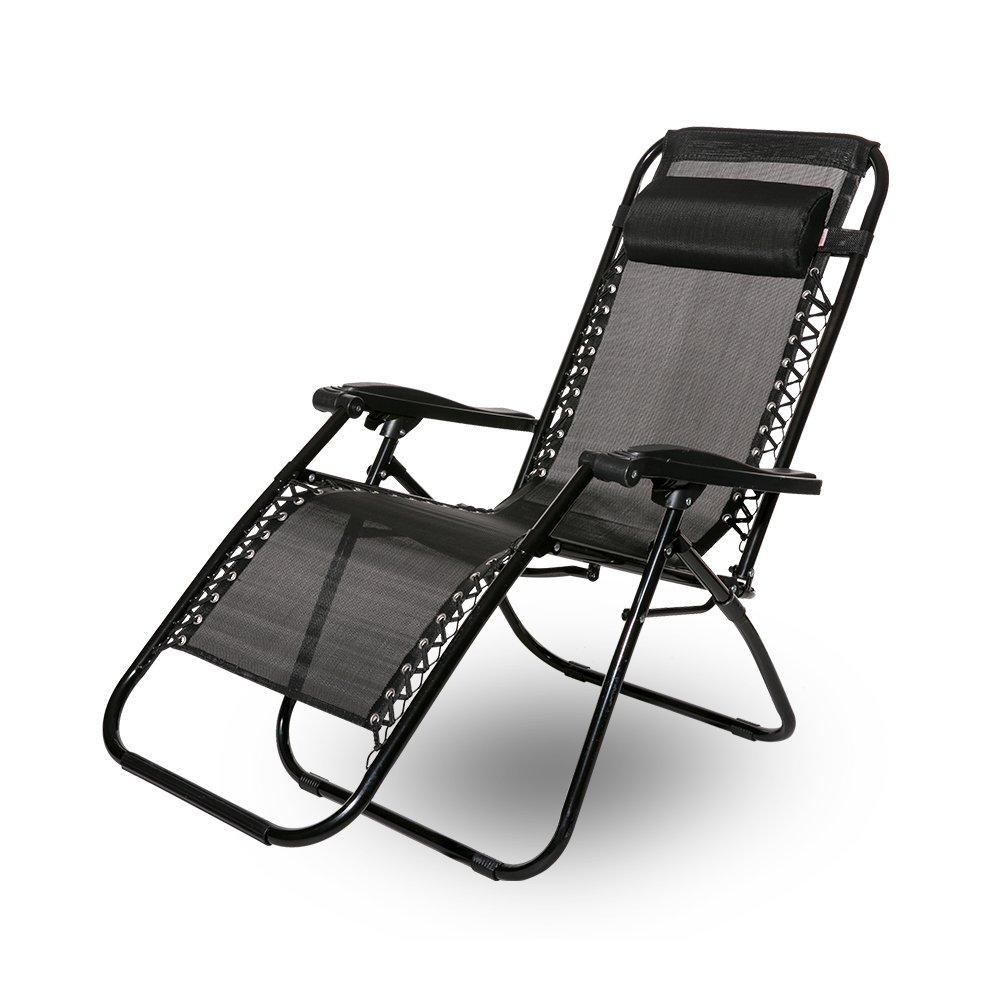 para jard/ín y camping plegable Tumbona reclinable Leisure Zone/®