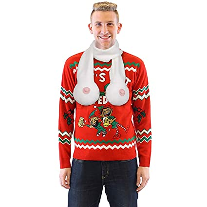 Funny Boob Scarfs Scarves Gag Prank Christmas Gifts Bachelor Bachelorette Gift
