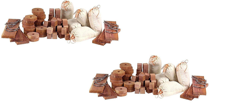 Household Essentials 35704-1 CedarFresh Storage Accessories (71 Items) (2 Pack - 71 Items)