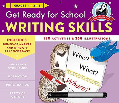 Get Ready for School Writing Skills
