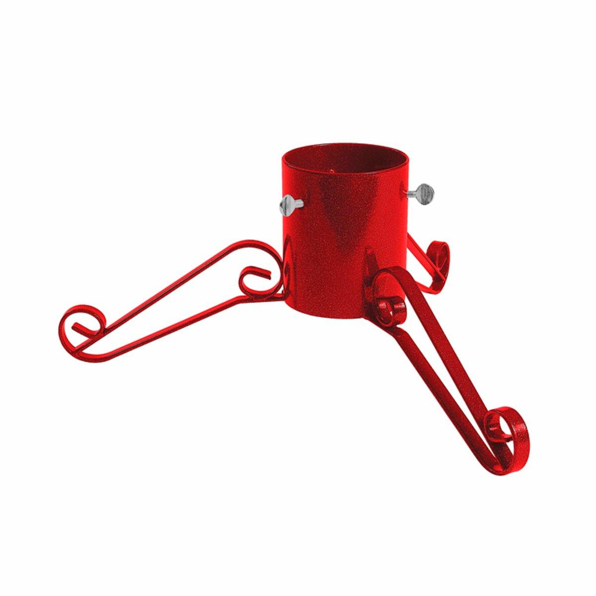 Piede di appoggio Albero di Natale Scintillante 12,5 Centimetri Nero Bosmere Products Ltd G462