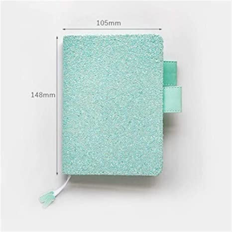 Amazon.com : Wirebound Notebooks Cute Glitter Notebook ...
