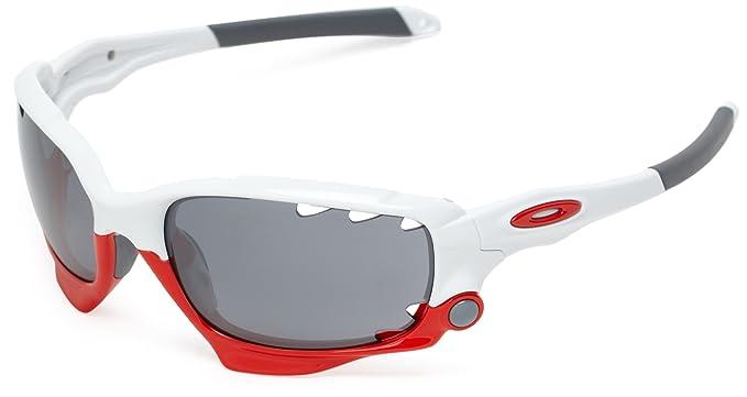 Oakley Vented Racing Jacket Gafas de sol, Multicolor, 57 ...
