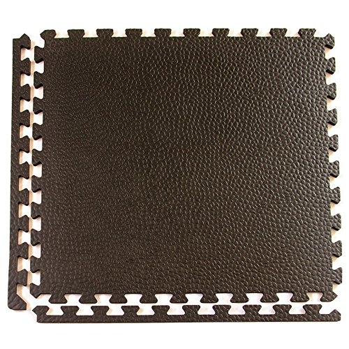 Greatmats Portable Interlocking Pebble Top Horse Stall Mats 15 Pack by Greatmats.com (Image #1)