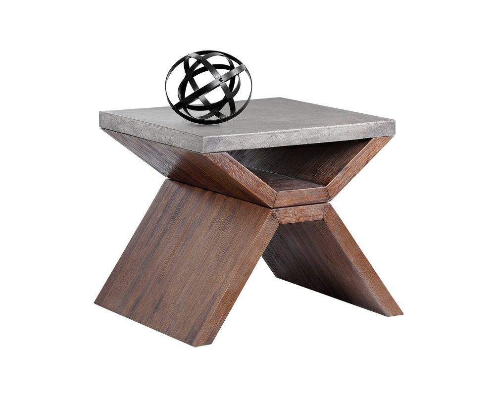 Sunpan Modern Vixen End Table by Sunpan Modern