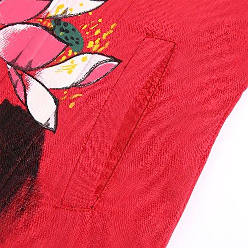 Manteau Acvip Parka Rouge Manteau Femme Rouge Manteau Femme Parka Femme Parka Acvip Acvip 55w68q