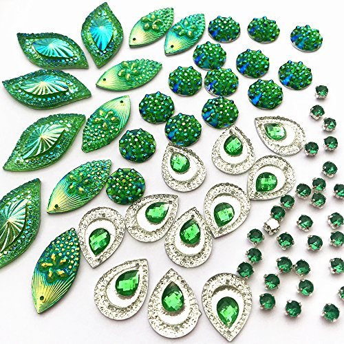 Buy green crystals for crafts