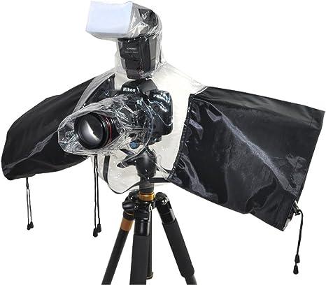 Universal Lluvia Funda impermeable para cámaras réflex con ...