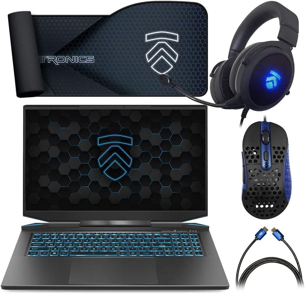 Prometheus XVII Covert Gamer QHD 165Hz Gaming Laptop PC: Intel i7-10875H 8-Core NVIDIA GeForce RTX 3070 17.3