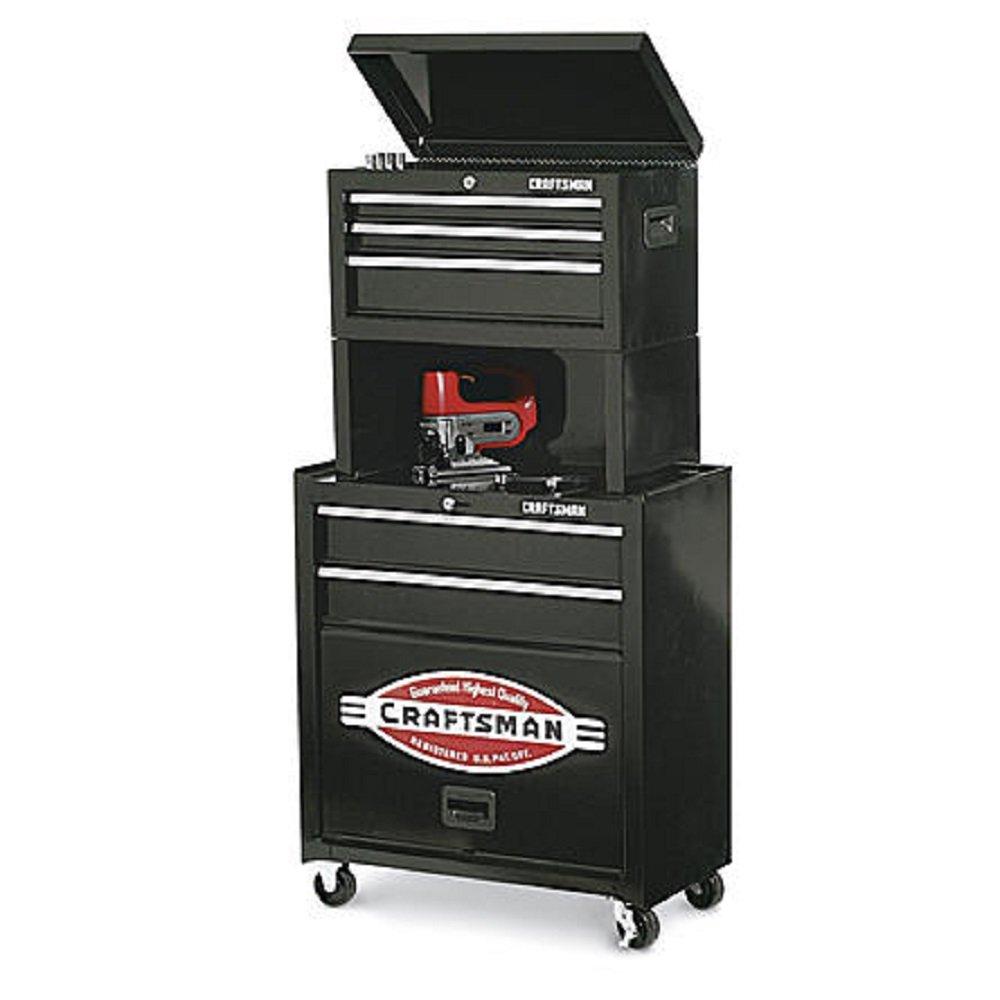 Tool Storage Center Organizes Craftsman 5-Drawer Homeowner with Riser