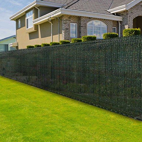 casa pura® Zaunblende | Höhe: 200 cm | effektiver Sichtschutz, Windschutz, Sonnenschutz | für Garten, Balkon, Sportplatz, Gelände und Gewächshaus | in 6 Größen erhältlich (2m x 20m)