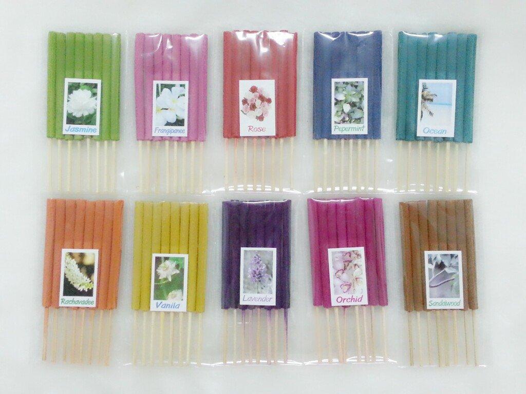 2019年激安 セット7 Mixアロマ10 Scents 80 Sticks Mini 80 Incense Mini Sticks Mixアロマ10 Thai Spaアロマセラピーホームのハーブ&香料、長さ3インチ B00KUKF316, 中津村:d2d9c512 --- arianechie.dominiotemporario.com