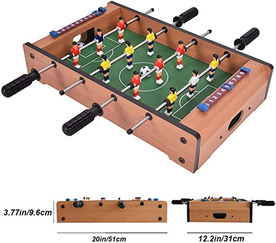Mesa de futbolín superior para adultos y niños Mini juego de ...