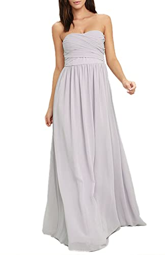 Absolute Rosy Women's Sweetheart Bodice Chiffon Prom Bride Maid Evening Dress