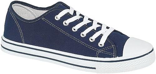 Mens De La Lona Béisbol Zapatillas - Baltimore - Azul Marino, 41 EU