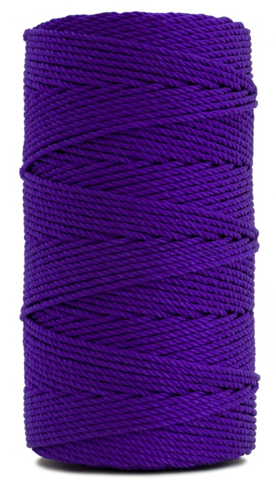 Rosary Twine, Twisted Nylon. Size #36, Purple, 1 lb 1-pack by CMI