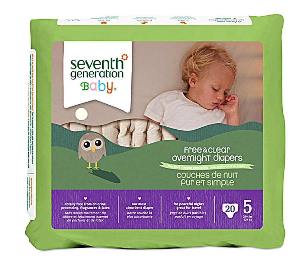 Seventh Generation Diapers - Overnight Diapers - Stage 5 (4x20ct)
