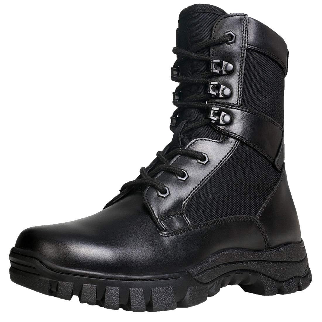 Noir FLYA Chaussures de randonnée pour Hommes avec Chaussures de randonnée pour Toutes Les Saisons, Marche, randonnée, Camping, randonnée, vélo,noir-36EU 39EU