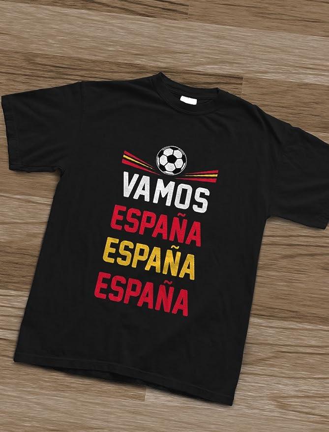 Green Turtle T-Shirts Camiseta para niños - Vamos España - Apoyemos a la elección Española!: Amazon.es: Ropa y accesorios