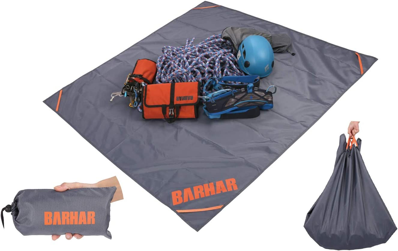 BARHAR Rock Climbing Quick Deploy Bag Waterproof Outdoor Tree Climbing Gear Rope Bag& Carry Straps : Sports & Outdoors