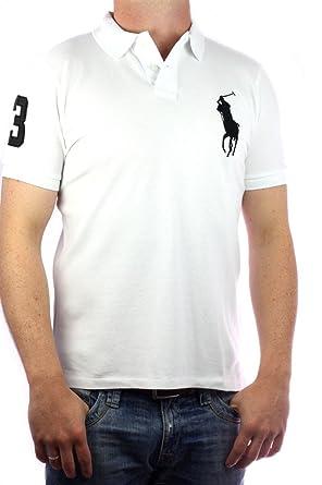 Polo by Ralph Lauren Big Pony genuine Polo-Shirt Men`s white-black