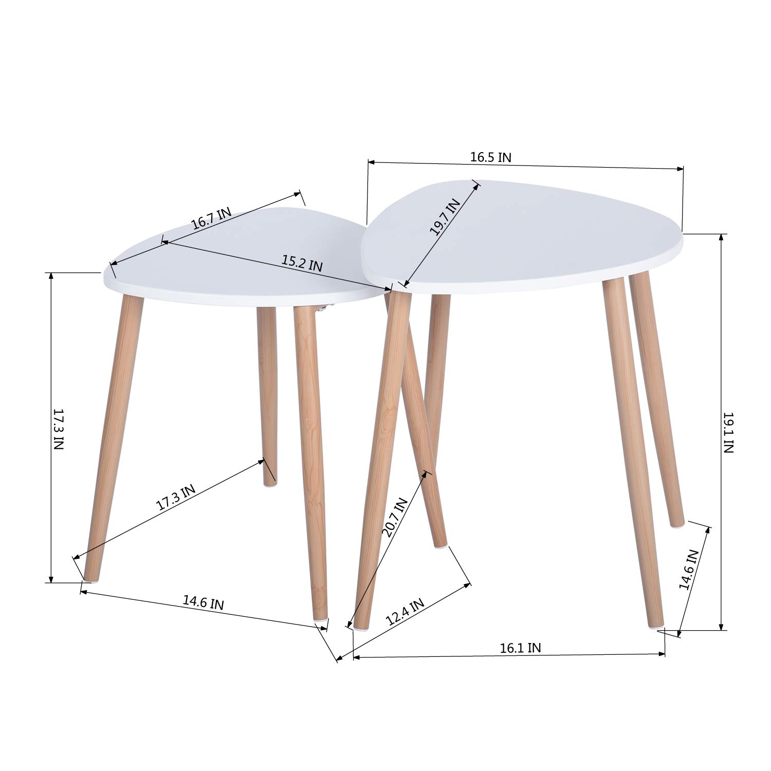 Rectangular, Grey Homy Casa Dining Table MDF Kitchen Table Dining Room Side Table