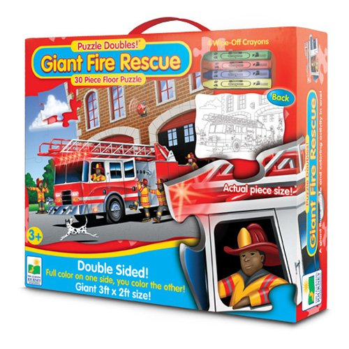 The Learning Journey Puzzle Doubles Giant Fire Rescue