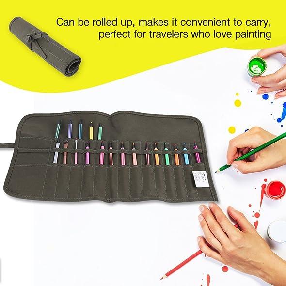 Amazon.com: Bolso para pinceles de pintura, Asixx nuevo más ...