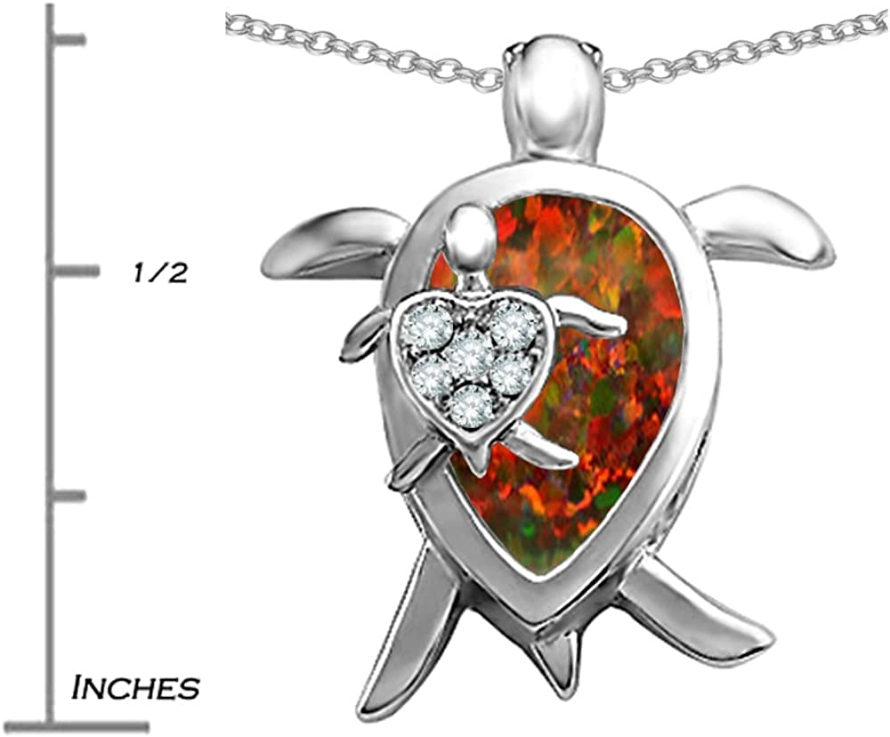 14K Yellow Gold-plated 925 Silver Turtles Pendant with 18 Necklace Jewels Obsession Turtles Necklace