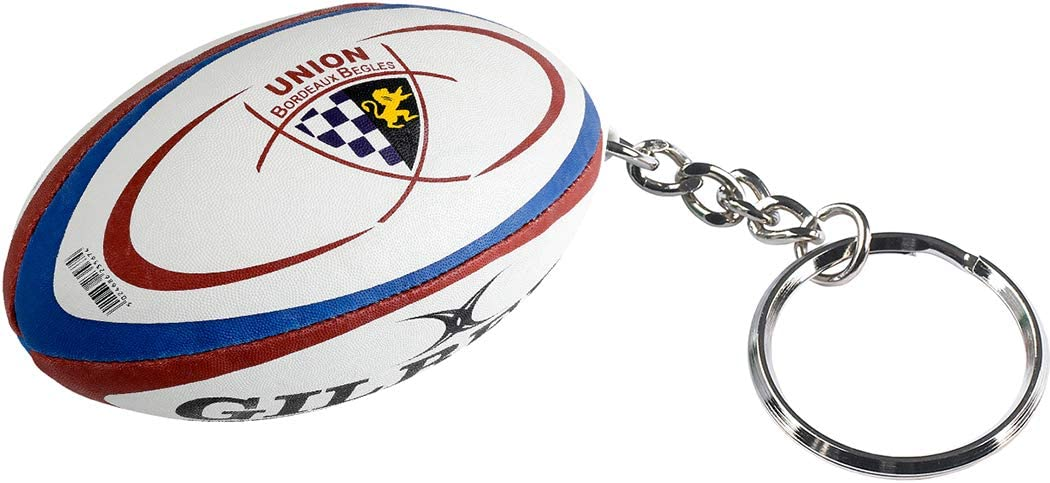 Gilbert Llavero con diseño del club de Rugby Union Bordeaux-Bègles (UBB): Amazon.es: Deportes y aire libre