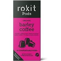 """Rokit Pods   Vainas de """"Café"""" de Cebada   Alternativa Descafeinada   Cápsulas Compostables   Cápsulas Compatibles con la…"""
