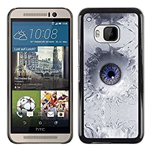 """For HTC One ( M9 ) , S-type Abstract Splash Ojo"""" - Arte & diseño plástico duro Fundas Cover Cubre Hard Case Cover"""
