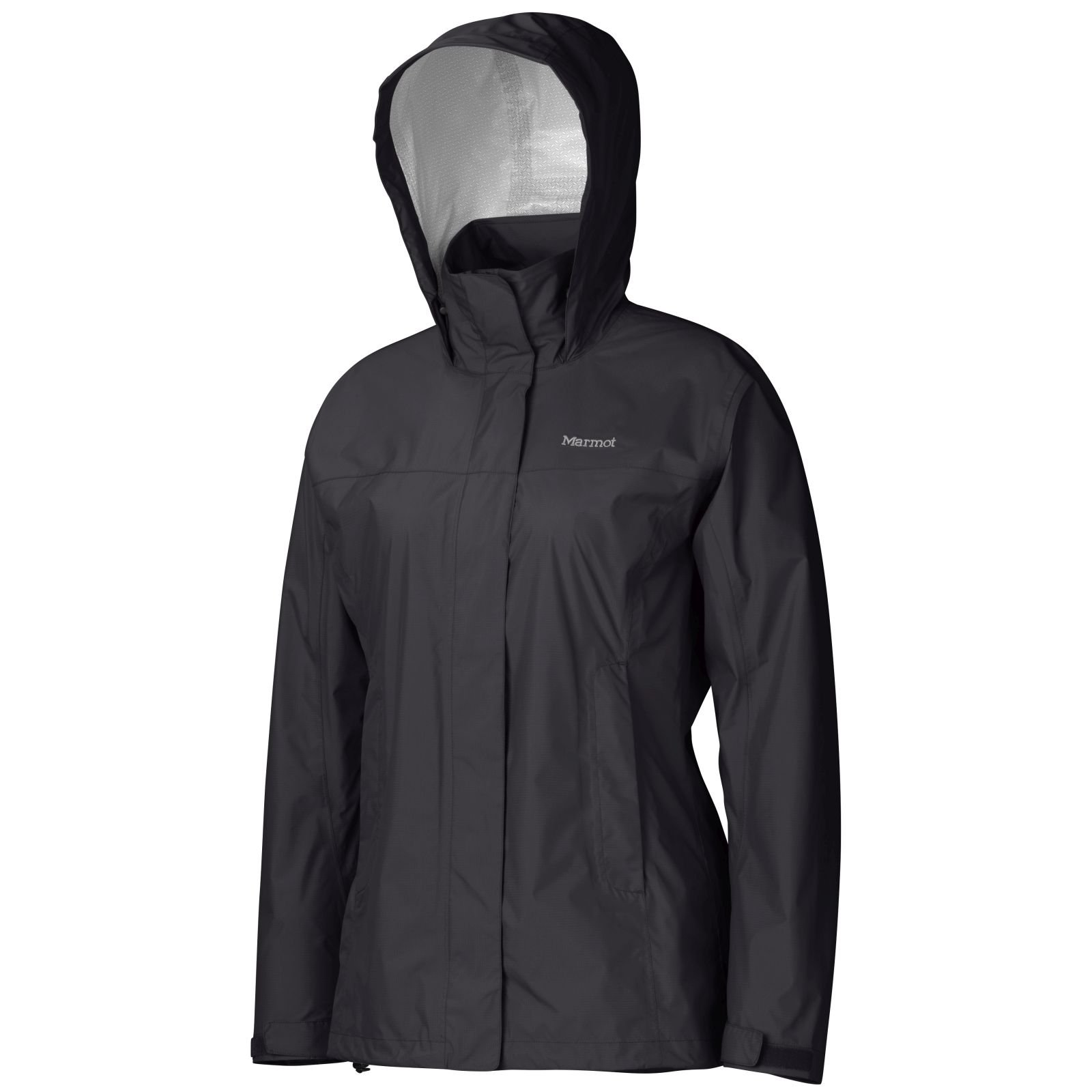 Marmot PreCip Women's Lightweight Waterproof Rain Jacket, Black, Large by Marmot