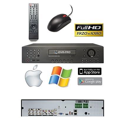 Amazon.com : CCTV Camera Pros 8 Camera CCTV System DVR, AHD ...
