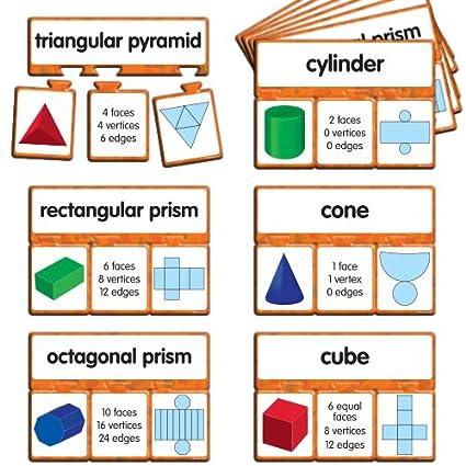 EAI Education Snap Math 3D Shapes Puzzle Grades 3 4