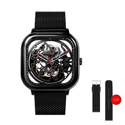 Lixada Xiaomi Hombres Automático Reloj Analógico Mecánico