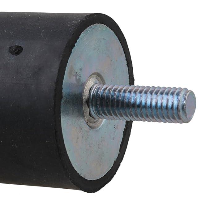 CNBTR M8 - Tornillo de doble extremo de goma antivibración para bomba (2 unidades): Amazon.es: Bricolaje y herramientas