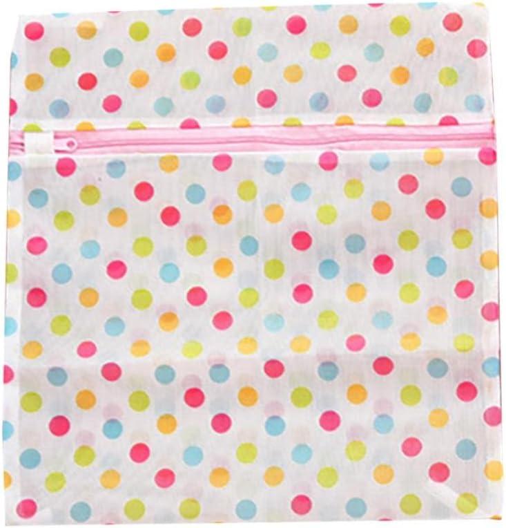 SUJING Mesh Dedicates Bra Washing Bag Laundry Bra Lingerie Mesh Wash Bag Mesh Laundry Bag Lingerie Garment Bag (30x40cm)